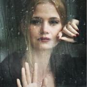 дождь и девушка