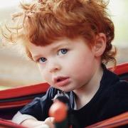 рыжий малыш