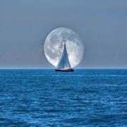 море корабль